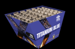 Batteriefeuerwerk Blue WaterTitanium Blue